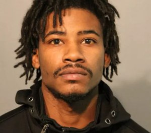 Hollis Williams, 29, was arrested and charged in the shooting of an on-duty firefighter last week.