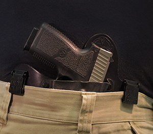 Once clipped into place it can support up to 70 pounds – probably more than you want to carry anyway. (UltiClip Image)