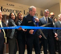 LA police open 'Homicide Library' to help solve cold cases