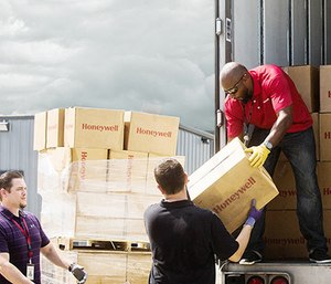 In the past 10 years, Honeywell has donated over $9.8 million in disaster relief support.