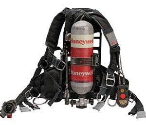 Honeywell TITAN SCBA gear.