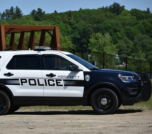 A Hooksett Police cruiser.