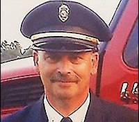 Townsend Township Fire Capt. Charles Horning.