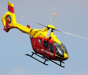 A report released last week by the GAO studied air ambulance provider charges and found that people were often unaware of the price. (Photo/Wikimedia Commons)