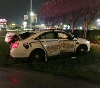 Texas deputy hospitalized after patrol vehicle rear-ended and T-boned