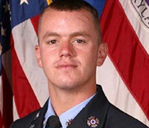 Firefighter-paramedic John Ulmschneider was fatally shot in 2016 during a welfare check call.