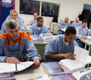 There is a strong connection between an offender's education level and the likelihood they will return to a correctional facility. (Photo/Johnson Controls)