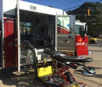 NC fire department gets hybrid fire truck, ambulance