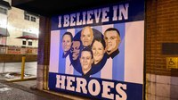 Mural honors Nashville cops who saved lives before Christmas bombing