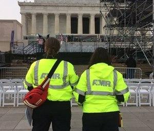 American Medical Response employees in Washington D.C. (Photo/AMR)