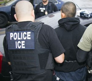 The Davidson County Sheriff's Office plans to end its contract with ICE. (Photo/AP)