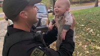 Video: Ill. cop saves choking infant