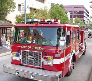 Topeka's firefighter and police unions are challenging city leadership over a 3% pay cut announced last week in response to pandemic-related budget issues.