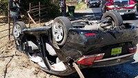 Calif. woman impaled in crash