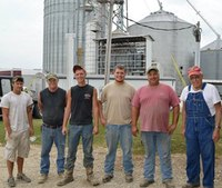 81-year-old Ind. farmer rescued from grain bin