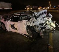 Ind. trooper seriously injured after drunk driver plows into patrol car