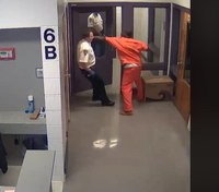 Video: Inmate attacks deputy at Fla. jail