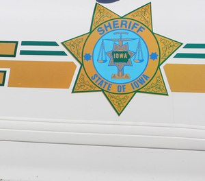 The decal on a Scott County Sheriff's Office cruiser.