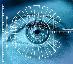 Iris scanning is no longer science fiction.