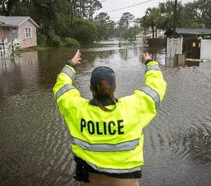For first responders, jumping from one disaster to the next is no easy task – especially when their own homes may be experiencing similar flooding and destruction.