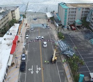 Pictures and videos captured by the drones were essential when working with FEMA during the recovery process.