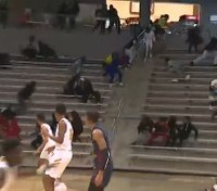 Video: Texas officer shot running toward gunfire at basketball game