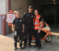 Israeli EMT helps save boy's life while lecturing in Wyo.