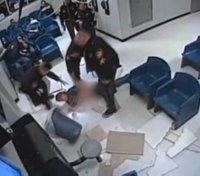 Video: Ohio woman falls from ceiling in attempt to flee prison waiting room