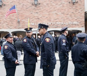Officers from departments across Hudson County are picking up shifts so Jersey City police officers can mourn Det. Joseph Seals' death.