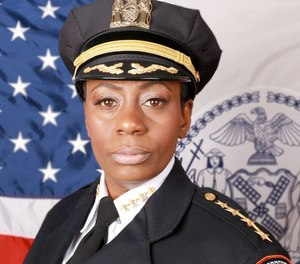 New York Department of Corrections Chief of Department Hazel Jennings.