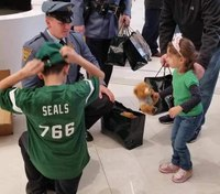 NJ troopers, NY Jets surprise family of slain Jersey City cop with jerseys