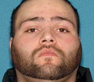 Juan Hector Padilla, 28, was charged with arson after a fire in New Jersey prompted more than 100 firefighters to respond Sunday night. Officials say Padilla posted multiple references to setting fires on Facebook prior to the blaze. (Photo/Office of the Somerset County Prosecutor)
