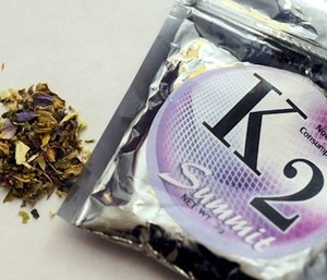 "A recent surge in emergency calls about people on the drug K2 is a ""huge problem."""