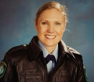 Senior Constable Kelly Foster died January 2, 2020 while trying to rescue another woman from a whirlpool.