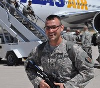 NJ firefighter welcomed home after serving in the Army overseas