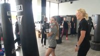 Calif. police officers fight to keep girls off the streets with kickboxing