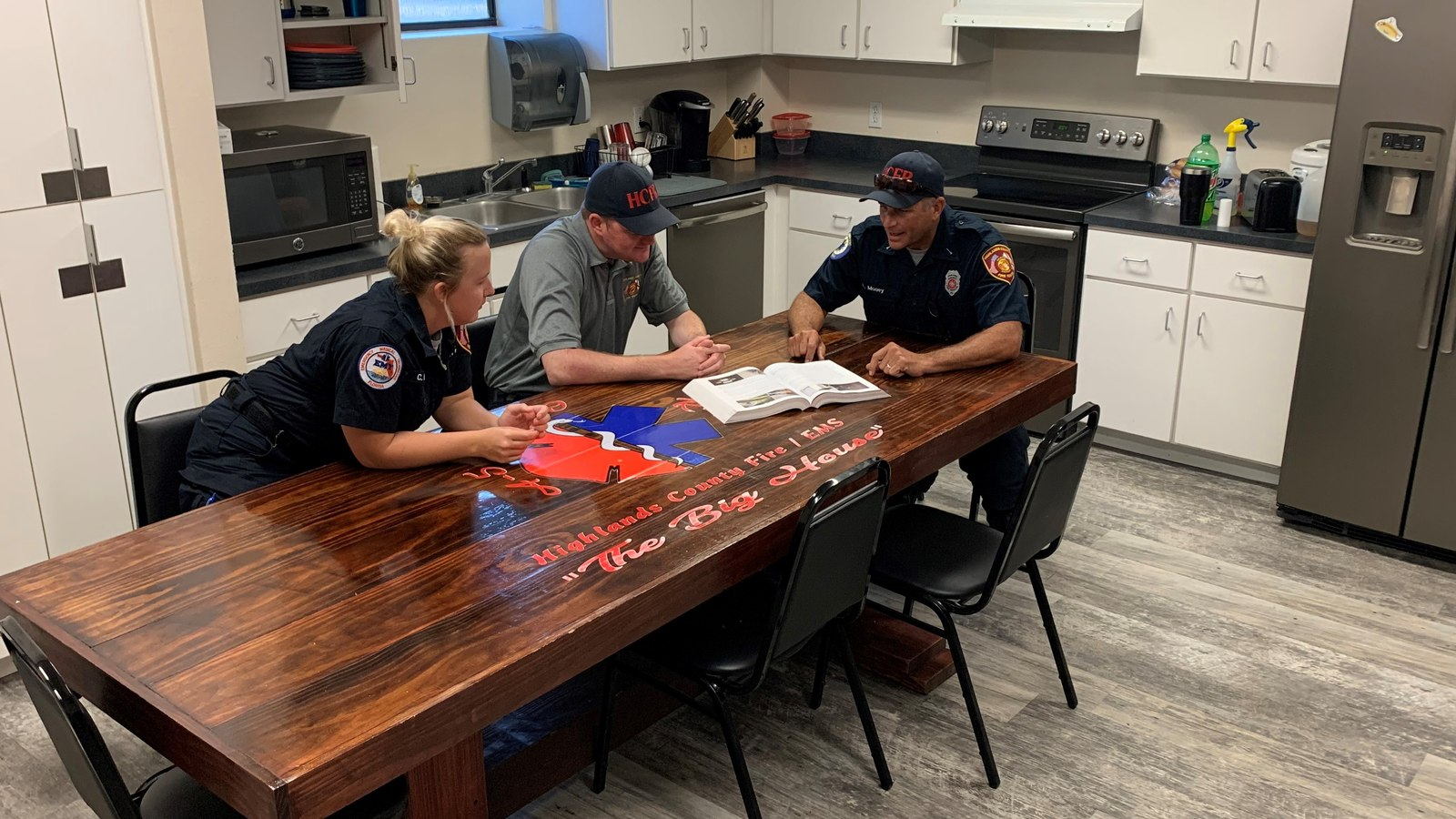 The firehouse kitchen table experience: Building connections