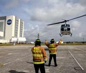 Firefighters at Kennedy Space Center are preparing to strike to fight for their retirement benefits and sick leave that they say officials are trying to take away.