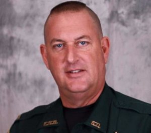 Deputy Bruce Simmons was shot in the arm July 17, 2016, when Gavin Long ambushed a group of officers, killing three and injuring three others, including Simmons. (Photo/East Baton Rouge Sheriff's Office)