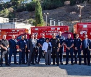 The Los Angeles Fire Department added three new apparatus to its successful Advanced Provider Response Unit program with the help of several hospitals. (Photo/LAFD)