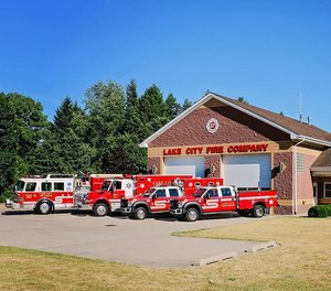 Police say the treasurer of the Lake City Fire Company Relief Association, Phillip J. Blose, stole more than $26,000 from the association. The company said in a statement that it is working diligently with investigators.