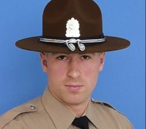 Illinois State Trooper Christopher Lambert, who was struck and killed by a car during a crash investigation on Jan. 12, 2019. (Photo/Illinois State Police)