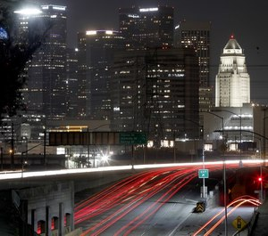 Speeds on some Los Angeles streets have increased by 30%, prompting officials to put measure in place designed to curb speeding even though streets are nearly empty.