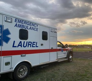 Laurel EMS has been approved to hire five new EMTs a day after its director resigned when the mayor initially halted hiring. (Photo/Laura Emergency Medical Services Facebook)
