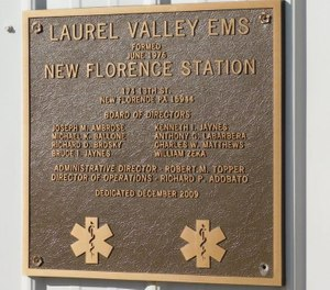 Laurel Valley Ambulance Service closed permanently Wednesday, saying it no longer had enough staff to take calls. (Photo/New Florence Borough)