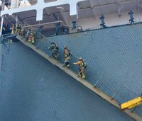 Firefighter, 12 others hurt in hazardous materials leak