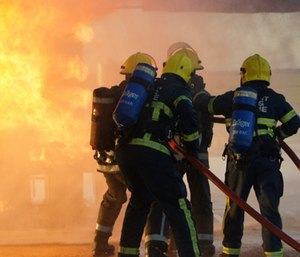 Post-traumatic stress disorder (PTSD) affects both career and volunteer firefighters.
