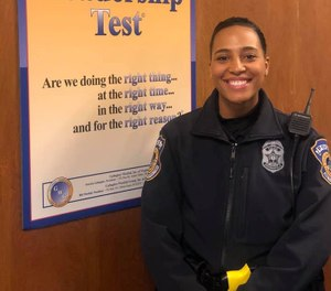 Officer Breann Leath was fatally shot while responding to a domestic disturbance call. (Photo/IMPD)