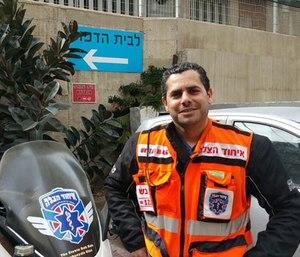 Avraham Levi. (Photo/United Hatzalah)