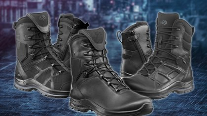 Haix is giving law enforcement officers a chance to walk miles in their boots